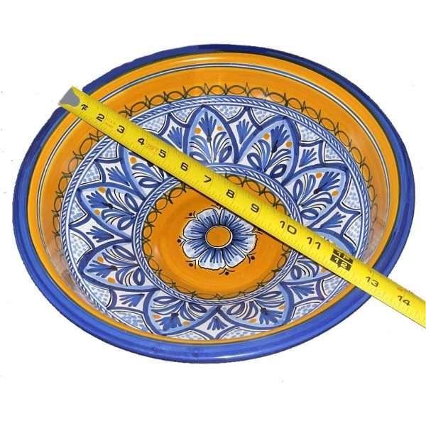 Fiesta Yellow Bowl Measurements