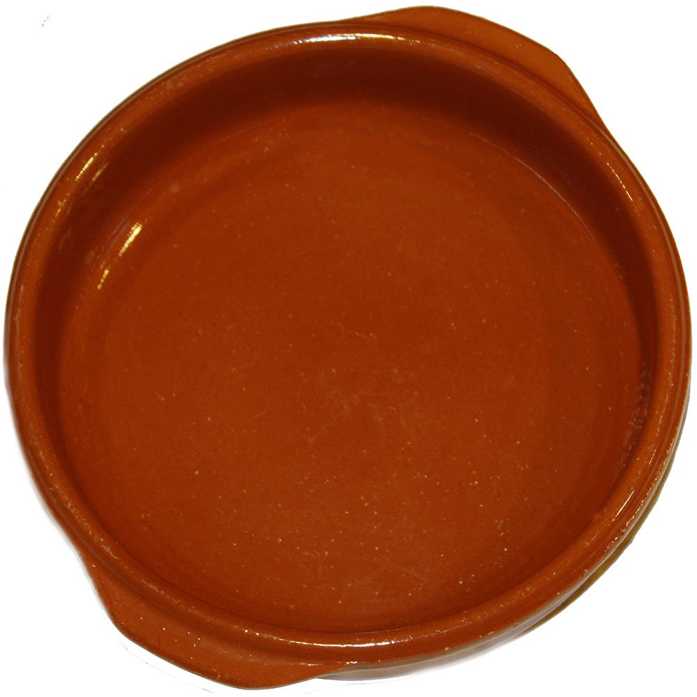 8 inch Terracota Cazuela Clay Baking Dish. Set of 4