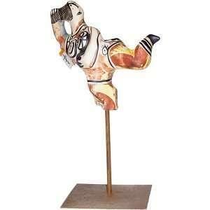 Malaga Spain Dancing Lady Sculpture
