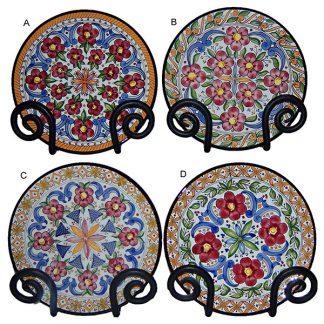 Danubio Red Ceramic Plate