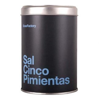 Soso Factory Five Pepper Sea Salt from Spain