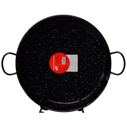 17 (43 cm) Authentic Enameled Paella Pan