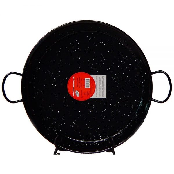 17 (43 cm) Authentic Enameled Paella Pan