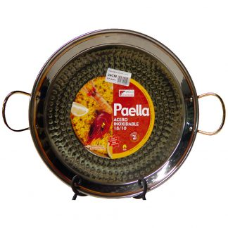 13 inch (32 cm) Stainless Steel Paella Pan