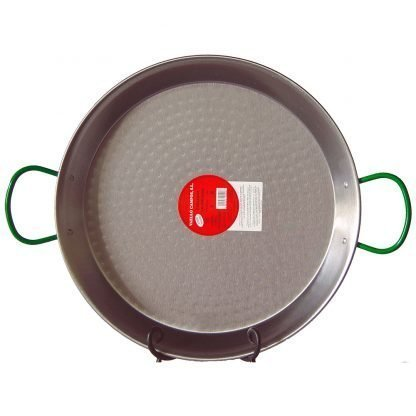 12 inch (30 cm) Carbon Steel Paella Pan Carbon