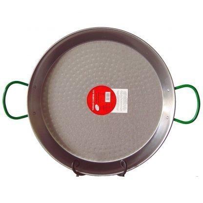 22 inch (55 cm) Carbon Steel Paella Pan