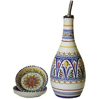 Oil Dispenser and Dipping Dishes from Spain