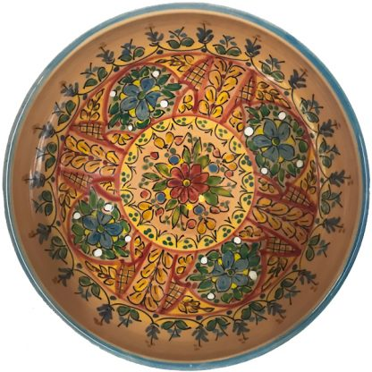 Hand Painted Ceramic Bowl from Spain