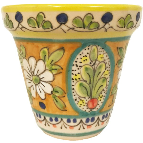 4 Inch Ceramic Flower Pot Mosaic