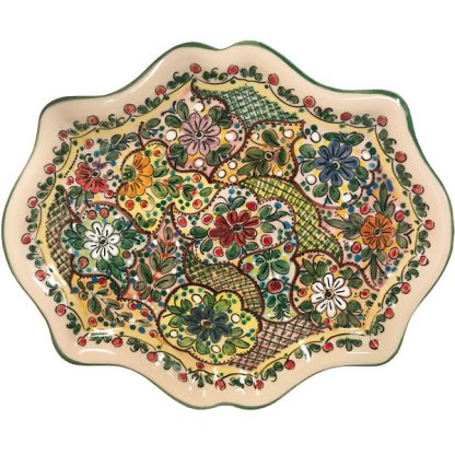 Ceramic Mosaic Plate from Spain