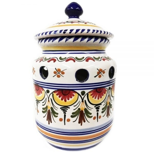 Multicolor Ceramic Garlic Keeper