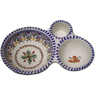 Spanish ceramic olive tray from Spain