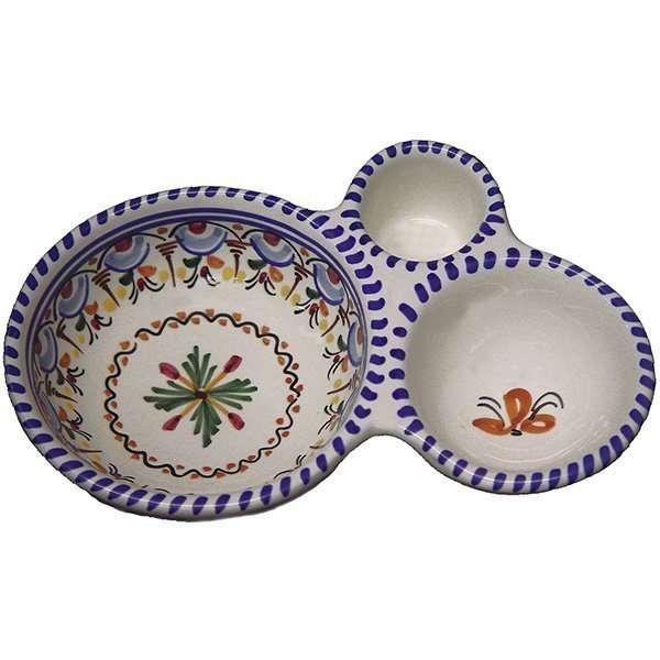 Spanish ceramic olive tray from Spain