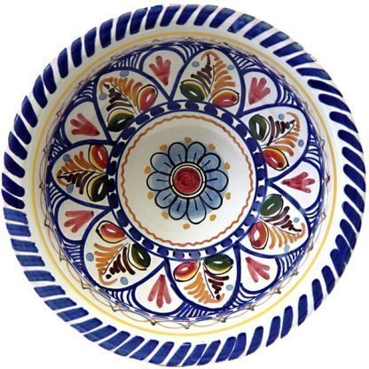 Spanish ceramic cereal bowl