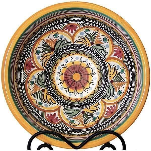 Seville Pattern Spanish Ceramic Bowl