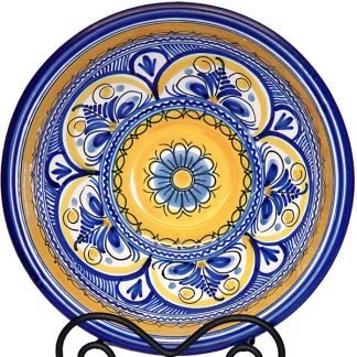 Spanish Ceramic Hand Painted Bowl