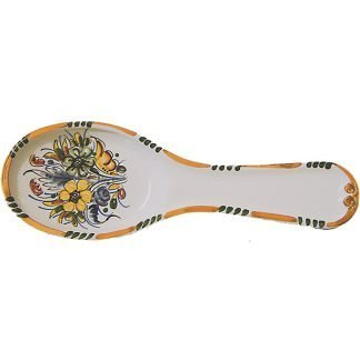 Spanish ceramic spoon rest
