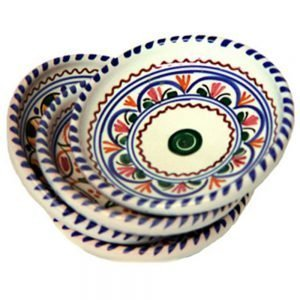 Spanish ceramic oil dipping dishes