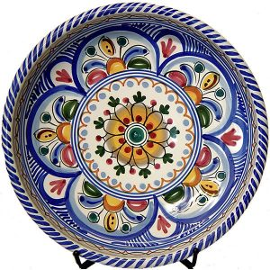 Spanish Ceramic Tapas Plate from Spain