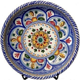 Spanish Ceramic Tapas Plate from Spain