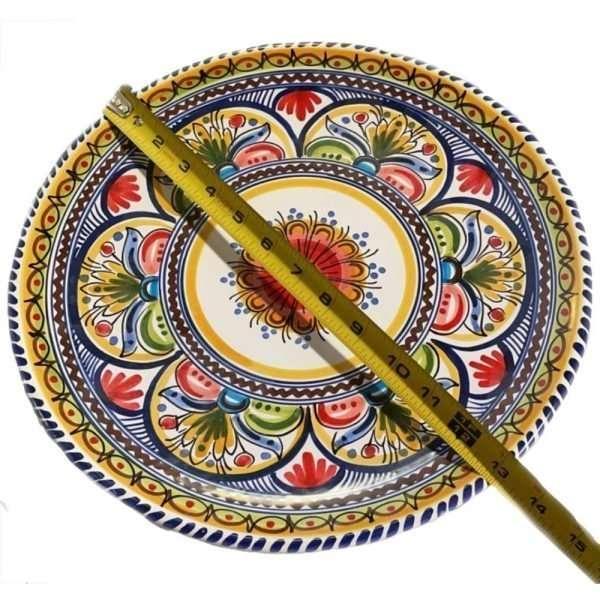 Multicolor Spain Plate
