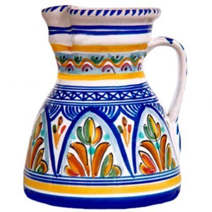 Small Pitcher.  Multicolor