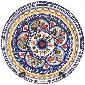 Multicolor Dinner Plate