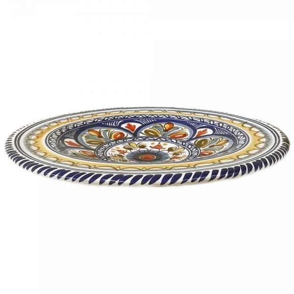 Multicolor Dinner Plate Side