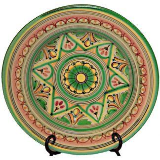 Ceramic Dinner Plate from Spain