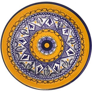 Hand Painted Dinner Plate from Spain