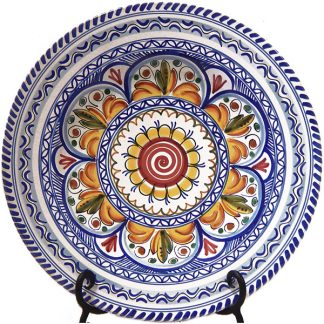 Hand Painted Spanish ceramic Plate