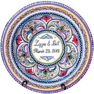 Personalized Spanish Ceramic Plate