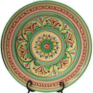 Hand Painted Ceramic Charger Plate from Spain