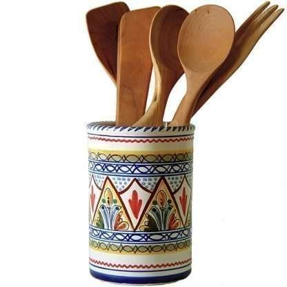 Ceramic Utensil Holder from Spain
