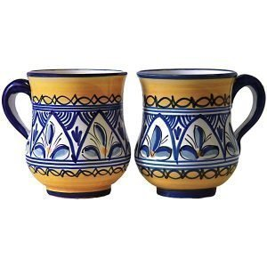 Spanish Ceramic Coffee Mug