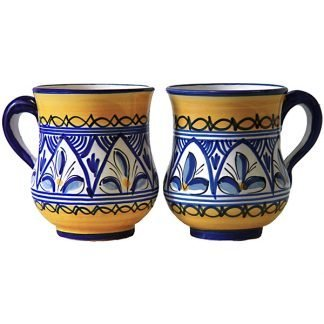 Hand Painted Mug from Spain
