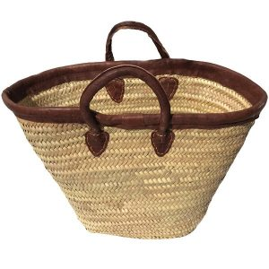 Wicker Beach Bag