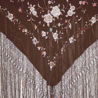 Spain Silk Manton Shawl