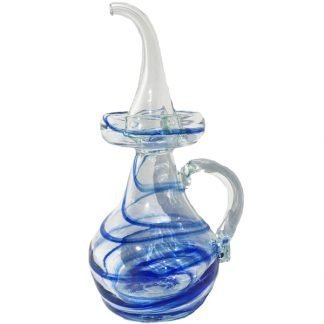 Glass Dripless Oil Decanter