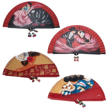 Spain Hand Painted Fans