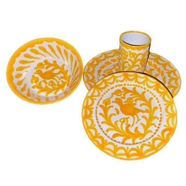 Yellow Granada Dinnerware