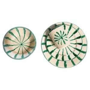 Granada Green Plates