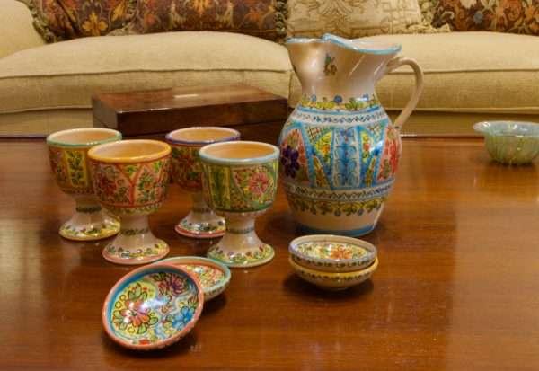 Spain Ceramic Pitcher