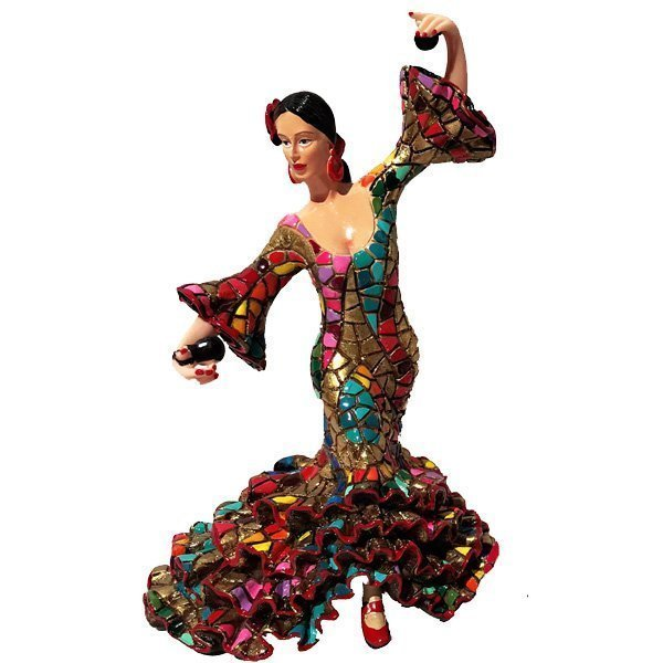 Mosaic Barcino Flamenco