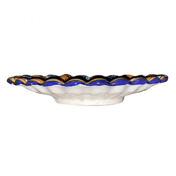 Peacock Plate Side