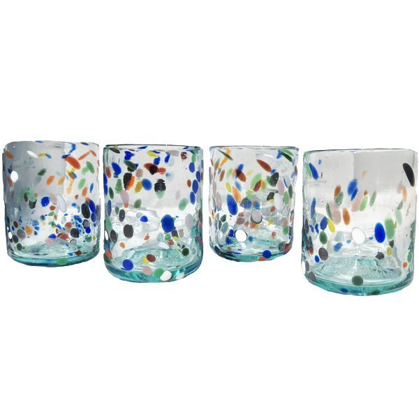 Drinking glasses from Mallorca, Spain