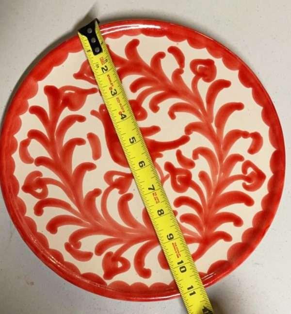 11 Red Bird Plate