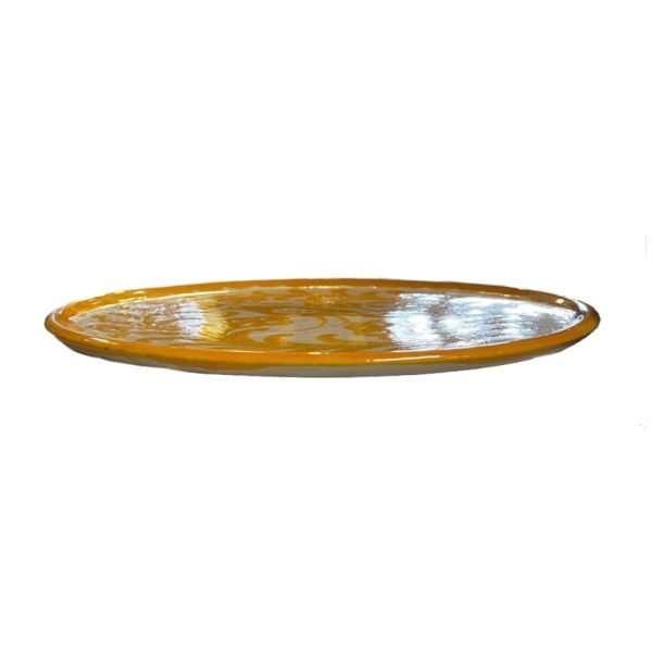 Yellow Bird Plate Side
